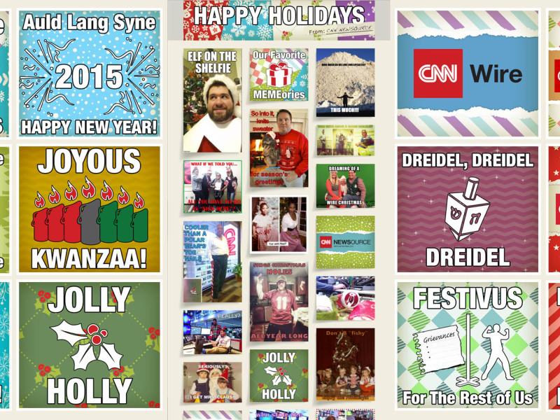 CNN 2014 Holiday E-card