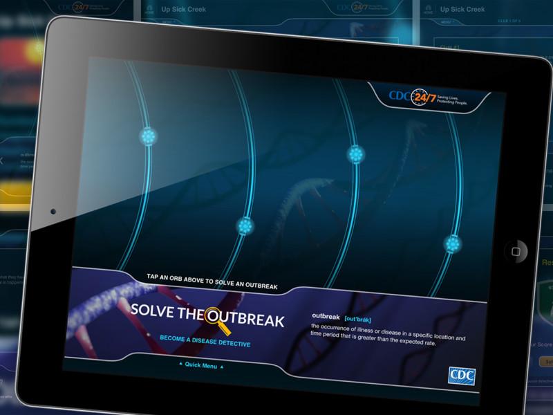 CDC Solve The Outbreak App